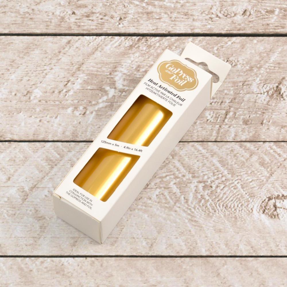 Foil - Gold (Vintage Matte Finish) - Heat activated