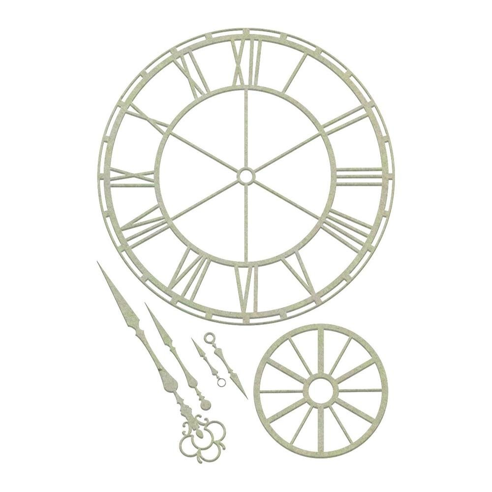 Chipboard - CO - Clockface Set (6pc)