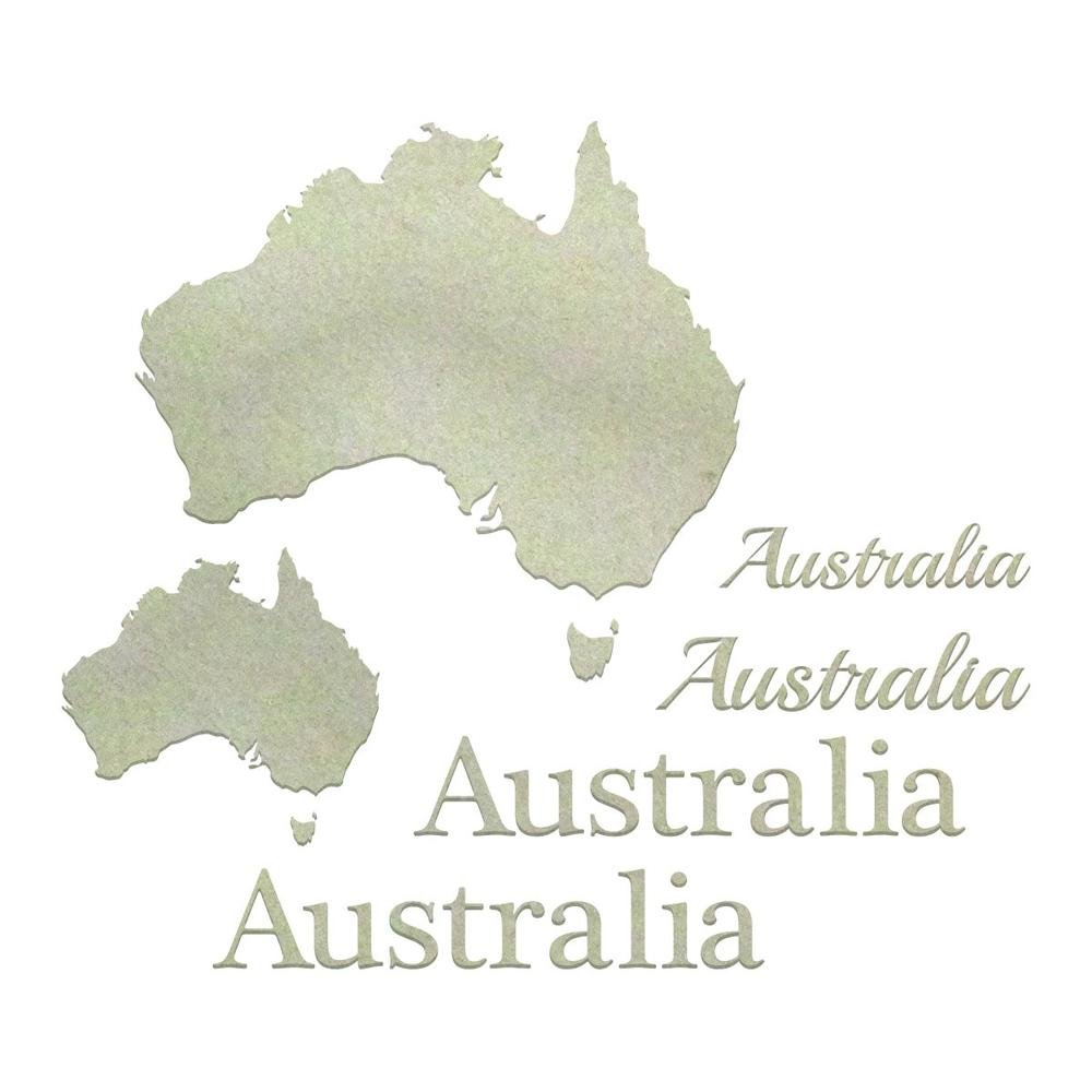 Chipboard - CO - Australiana Set (8pc)