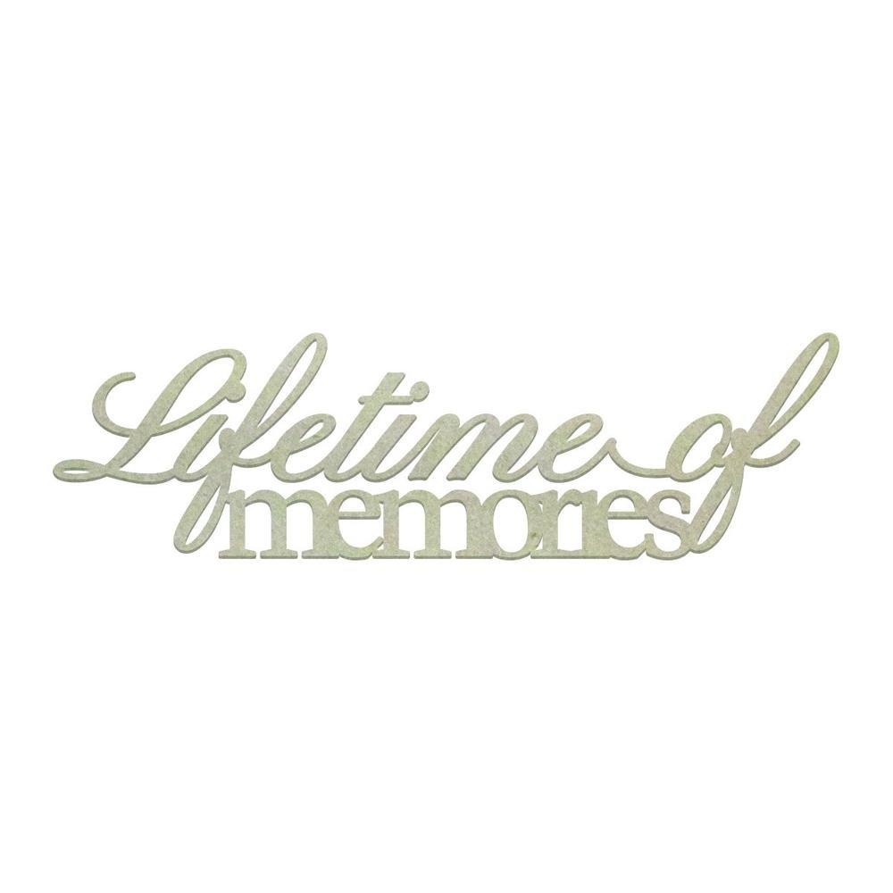Chipboard - CO - Lifetime of Memories (1pc)