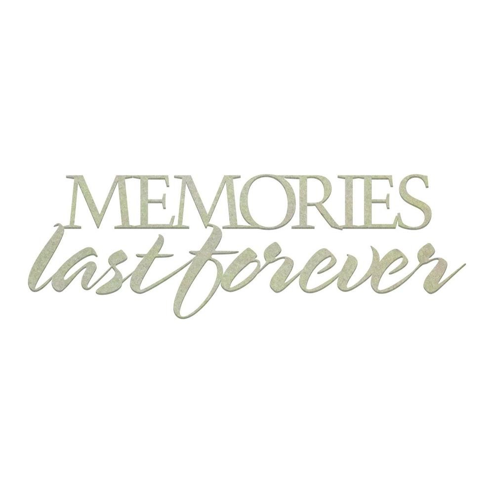 Chipboard - CO - Memories Last Forever (1pc)