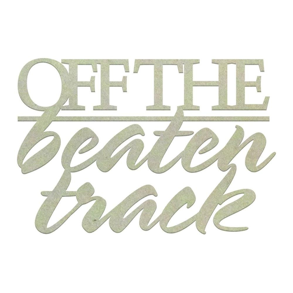 Chipboard - CO - Off The Beaten Track (1pc)