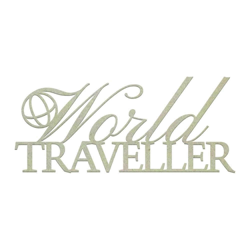 Chipboard - CO - World Traveller (1pc)