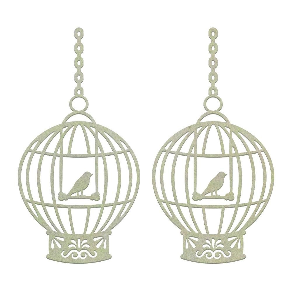 Chipboard - CO - Hanging Cages Set (2pc)