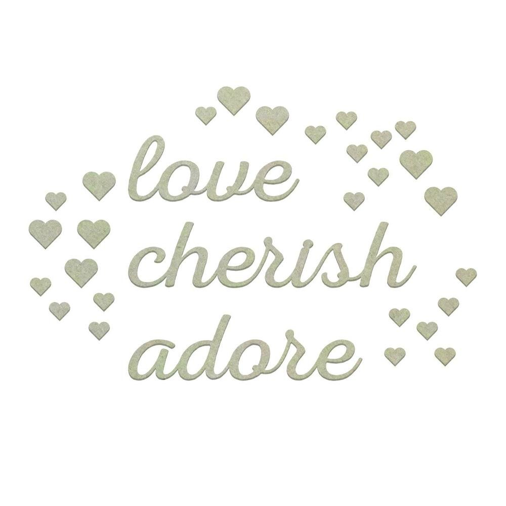 Chipboard - CO - Love and Adore Set (30pc)
