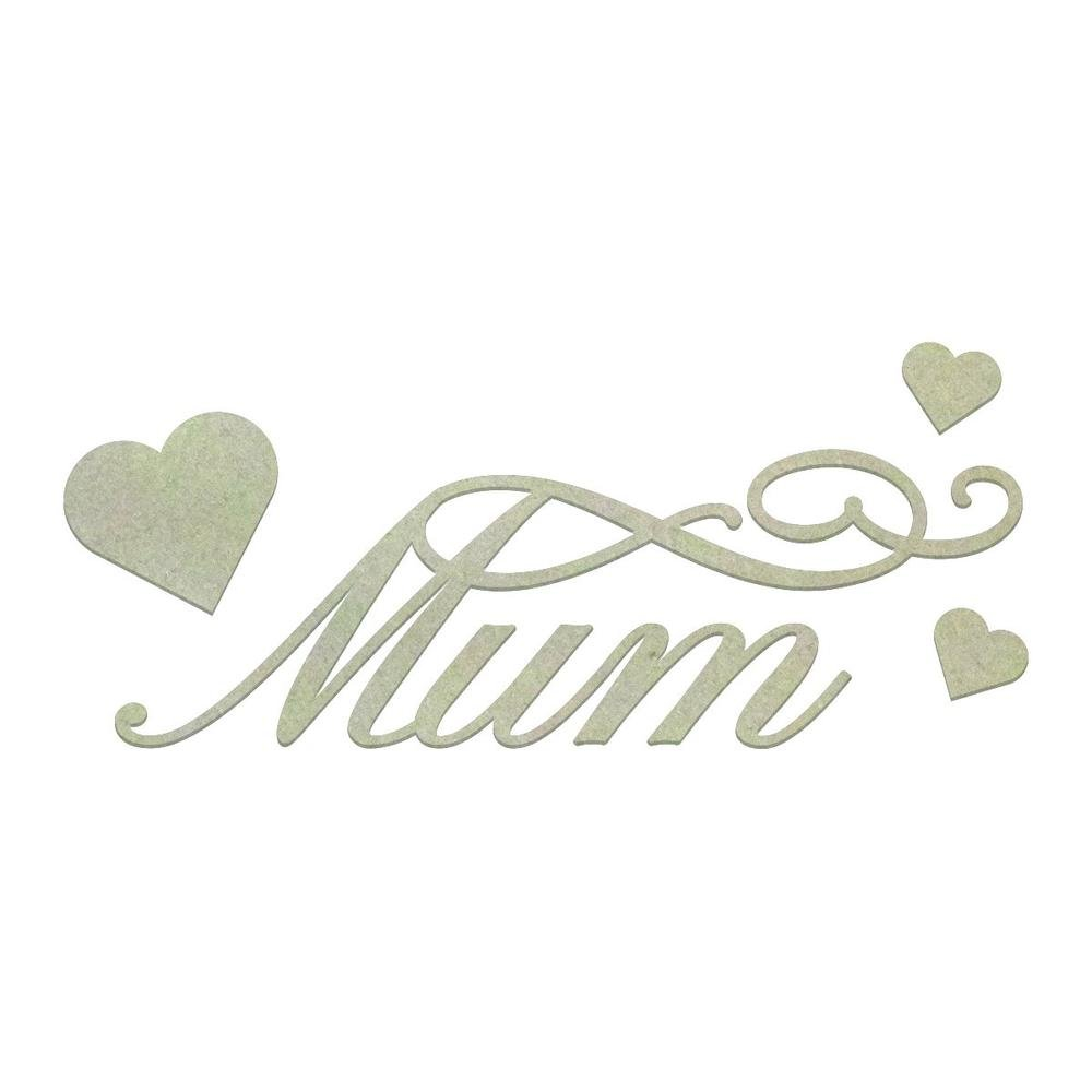Chipboard - CO - Loving Mum Set (4pc)