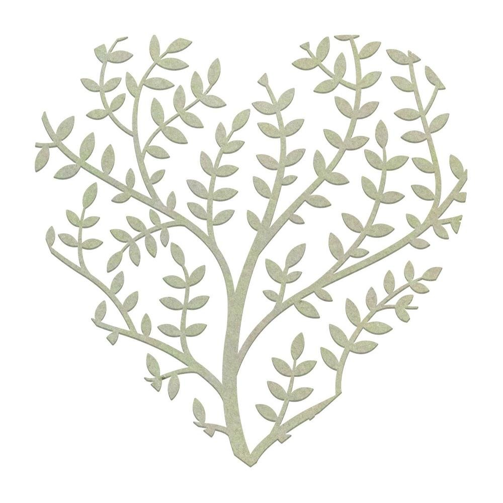 Chipboard - CO - Thriving Heart (1pc)