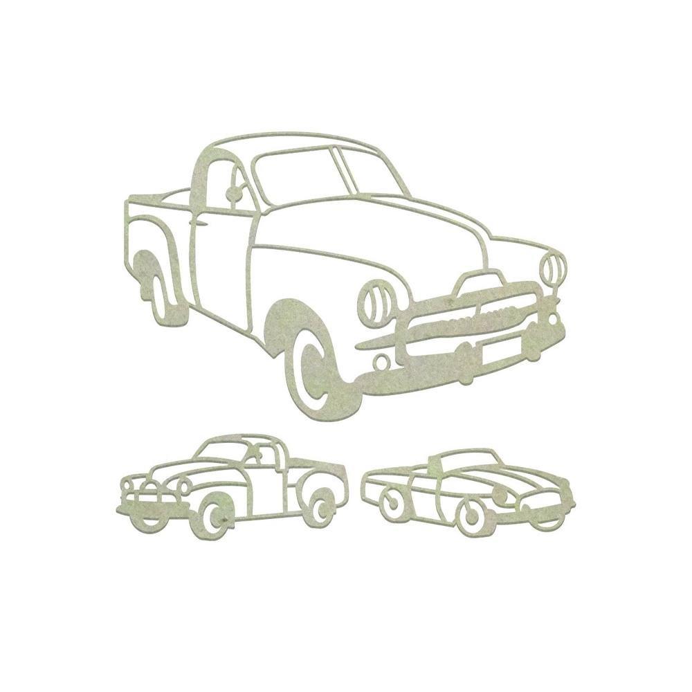 Chipboard - CO - Aussie Vehicles Set (3pc)