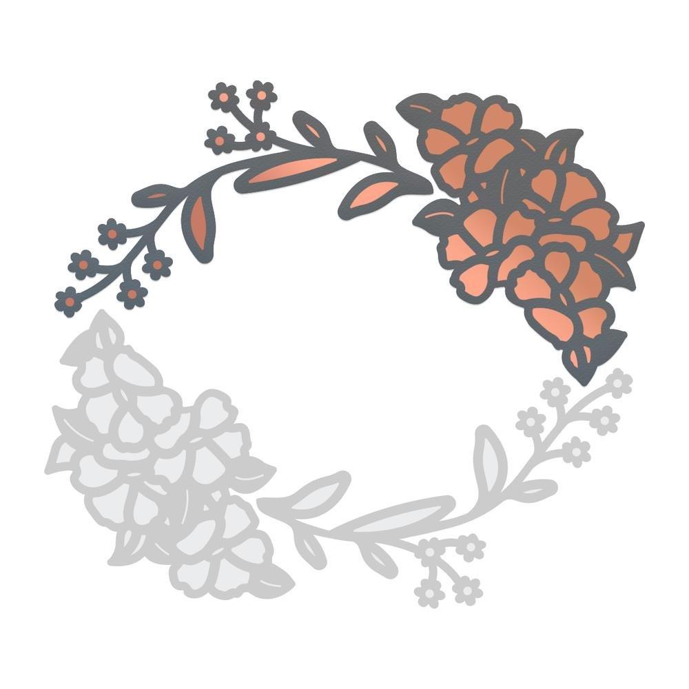 Cut & Foil Die - Lavish Ballroom - Botanical - 45x72mm, 47x56mm | 1.7x2.8in, 1.8x2.2in