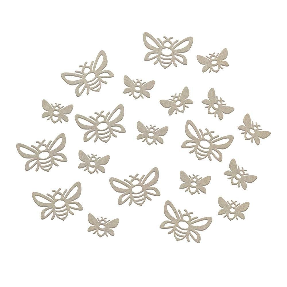 Chipboard - CLV - A Hive of Bees Set (20pc)
