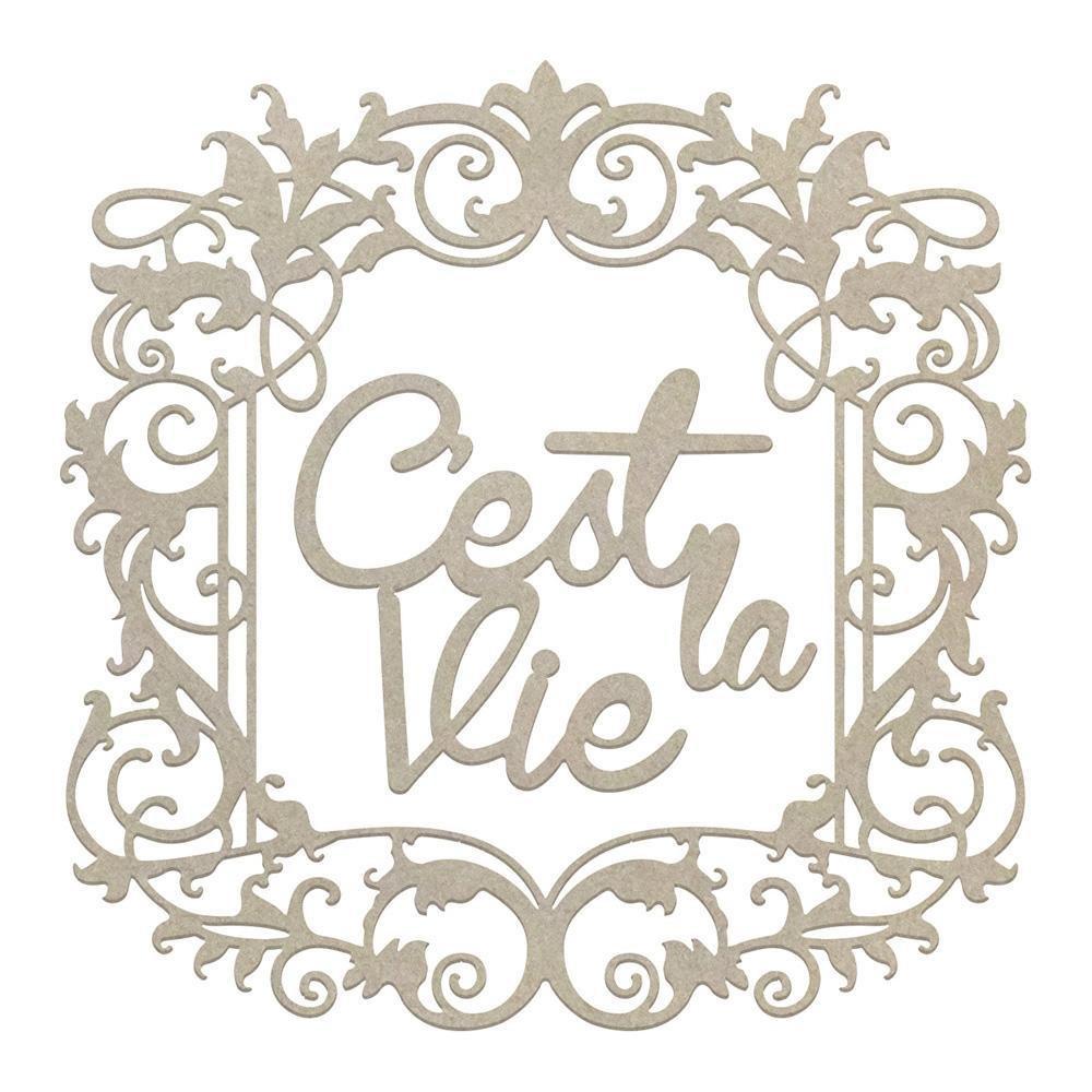 Chipboard - CLV - Framed C'est La Vie Set (2pc)