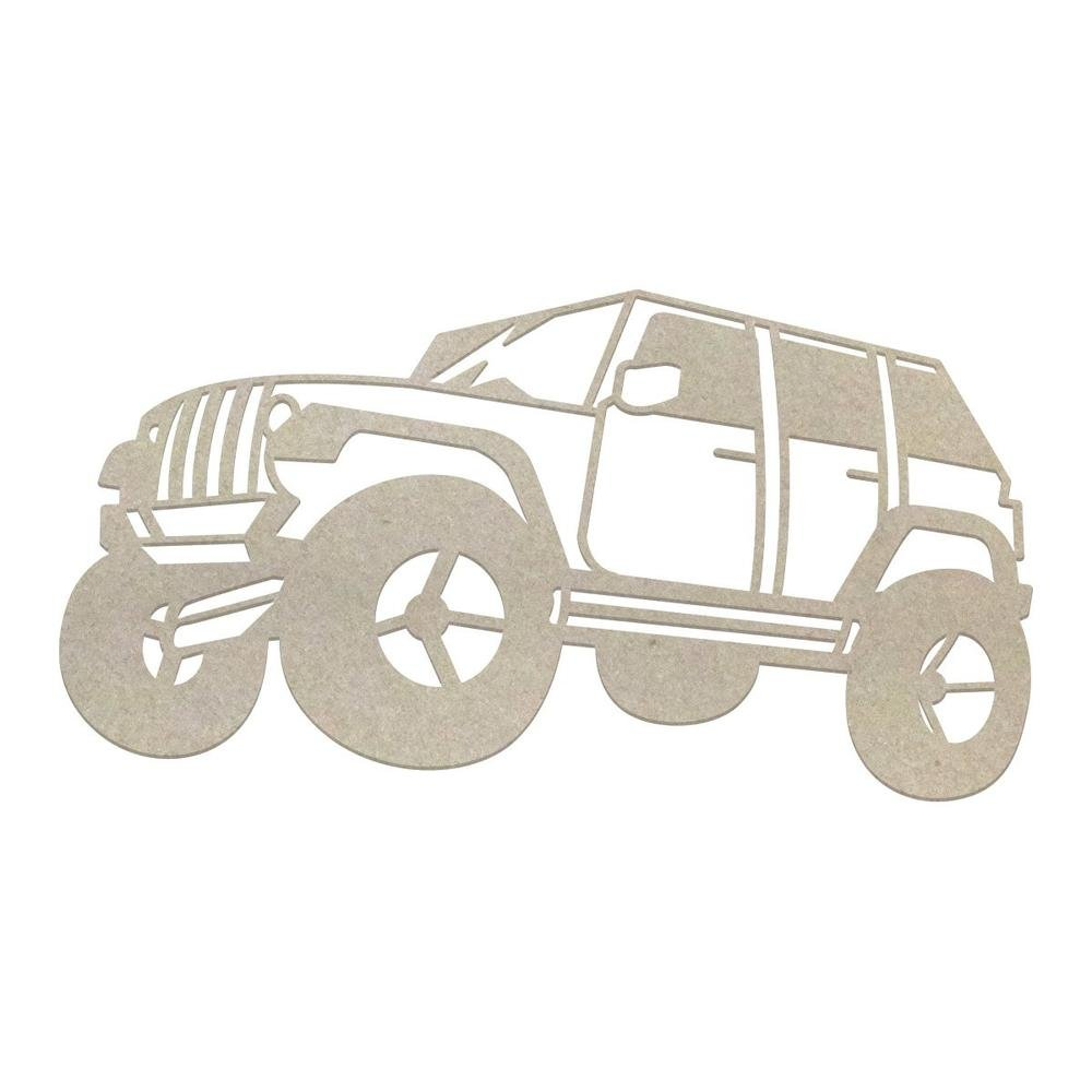 Chipboard - Boys - Off-Road Vehicle (1pc)