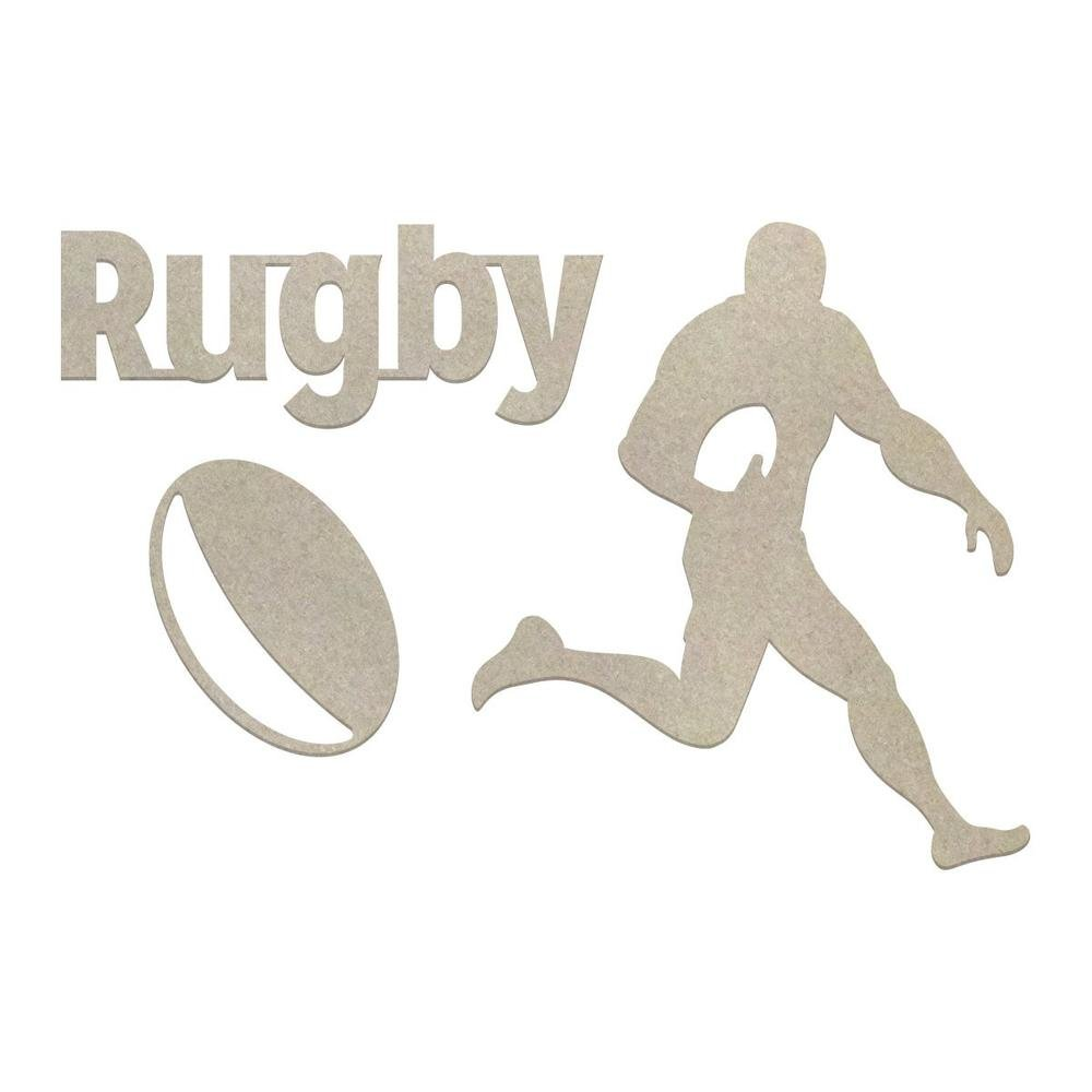 Chipboard - Boys - Rugby Set (3pc)