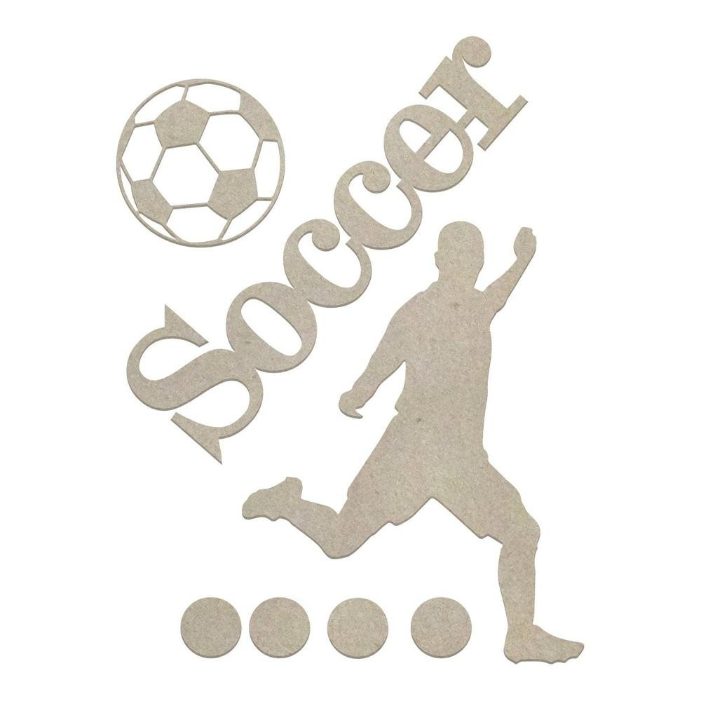 Chipboard - Boys - Soccer Set (7pc)