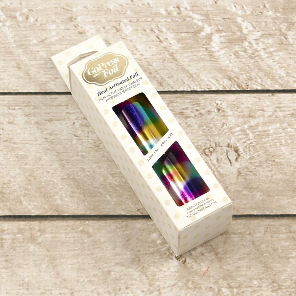 Foil - Rainbow Spots (Mirror Finish) - Heat activated