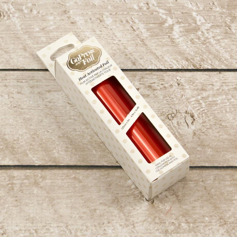 Foil - Persimmon Orange (Mirror Finish) - Heat activated