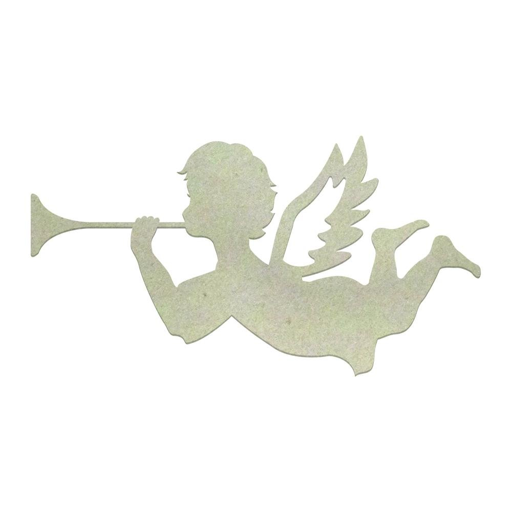 Chipboard - Christmas - Trumpeting Angel (1pc)