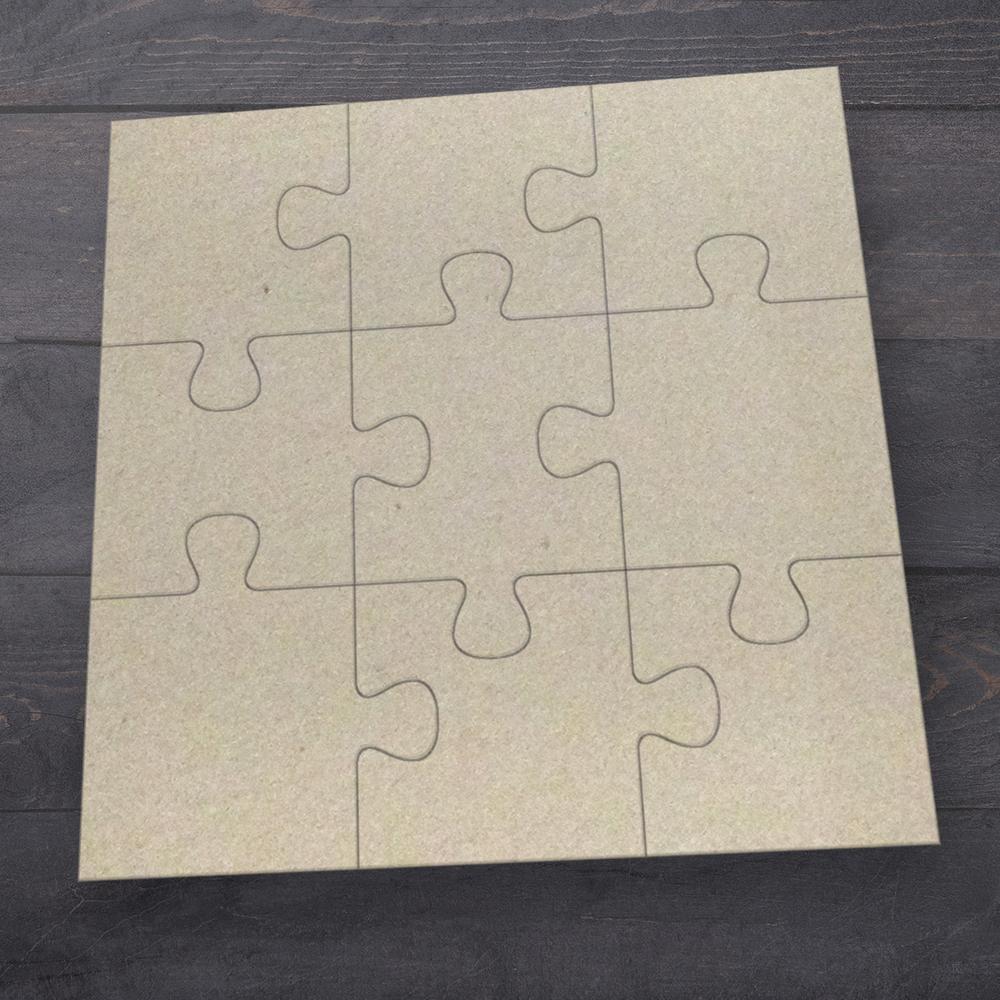 Chipboard - Butterfly Garden - Jigsaw Set (9pc)