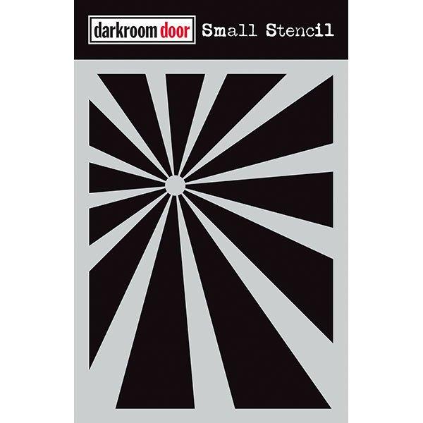 Darkroom Door Small Stencil 4.5 x 6 -Sunshine
