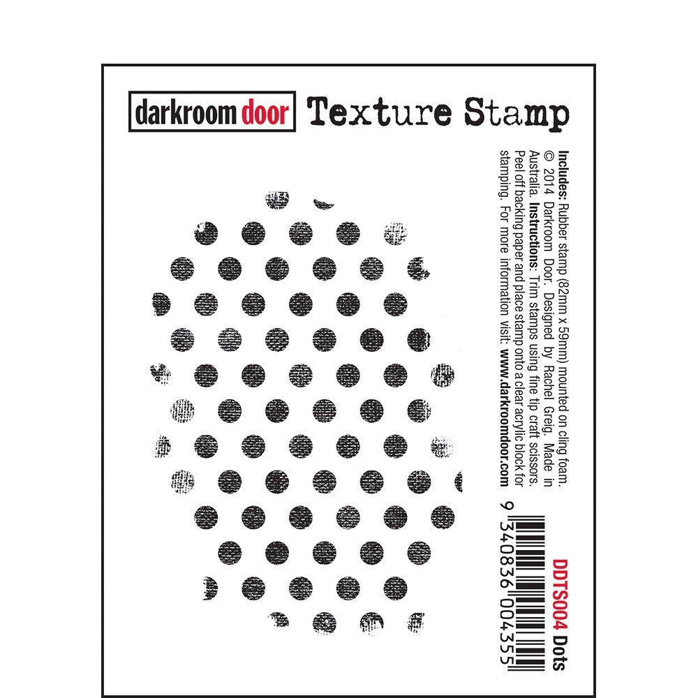 Darkroom Door Texture Stamp - Dots