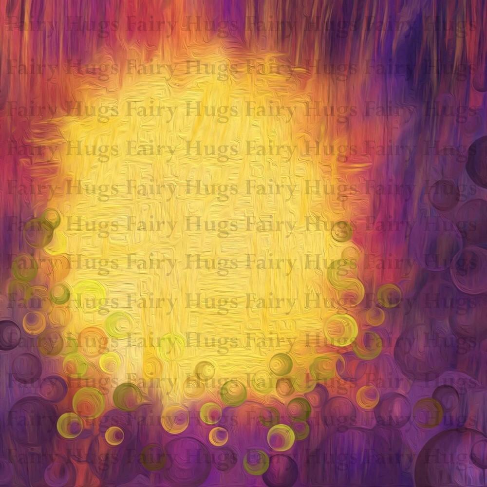 PRE ORDER Fairy Hugs - Fairy-Scapes - 6 x 6 - Sea Cavern