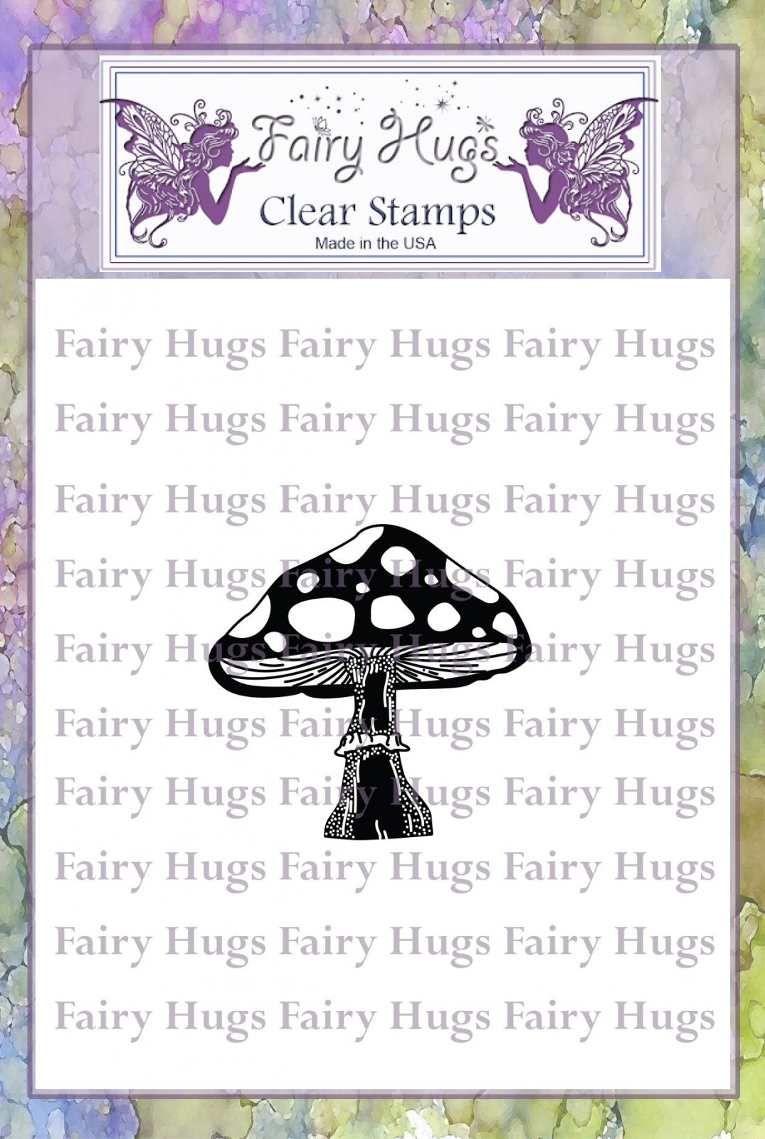 Fairy Hugs Stamps - Toadstool