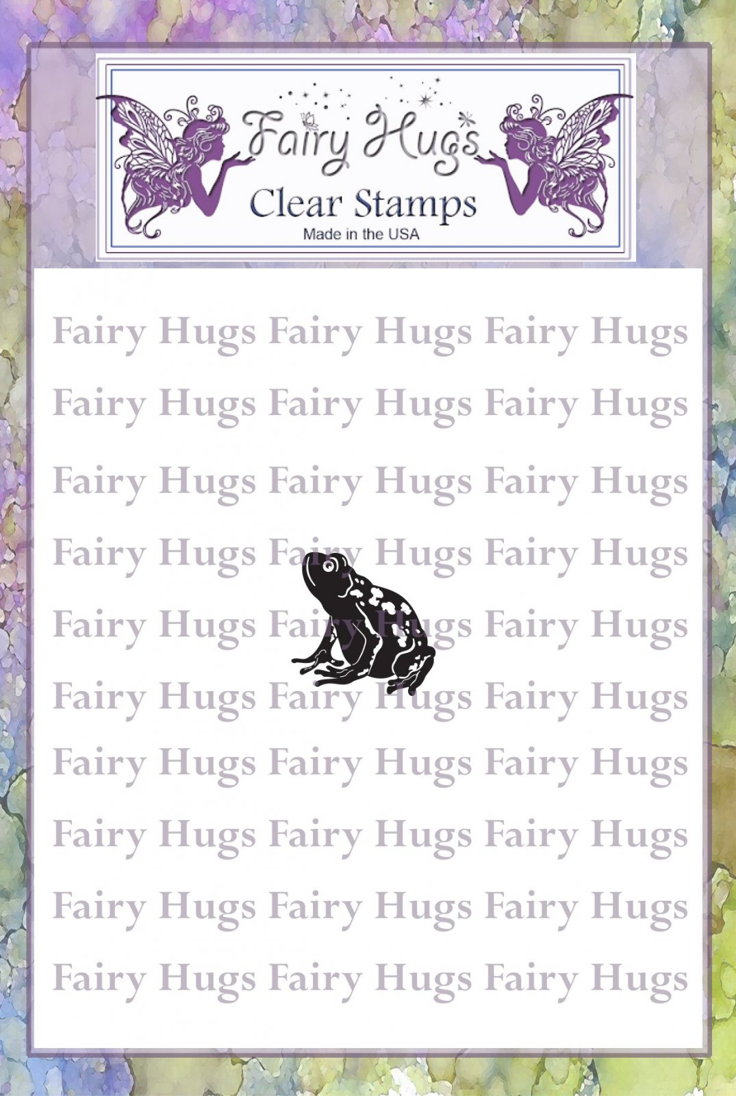 PRE ORDER Fairy Hugs Stamps - Mini Frog