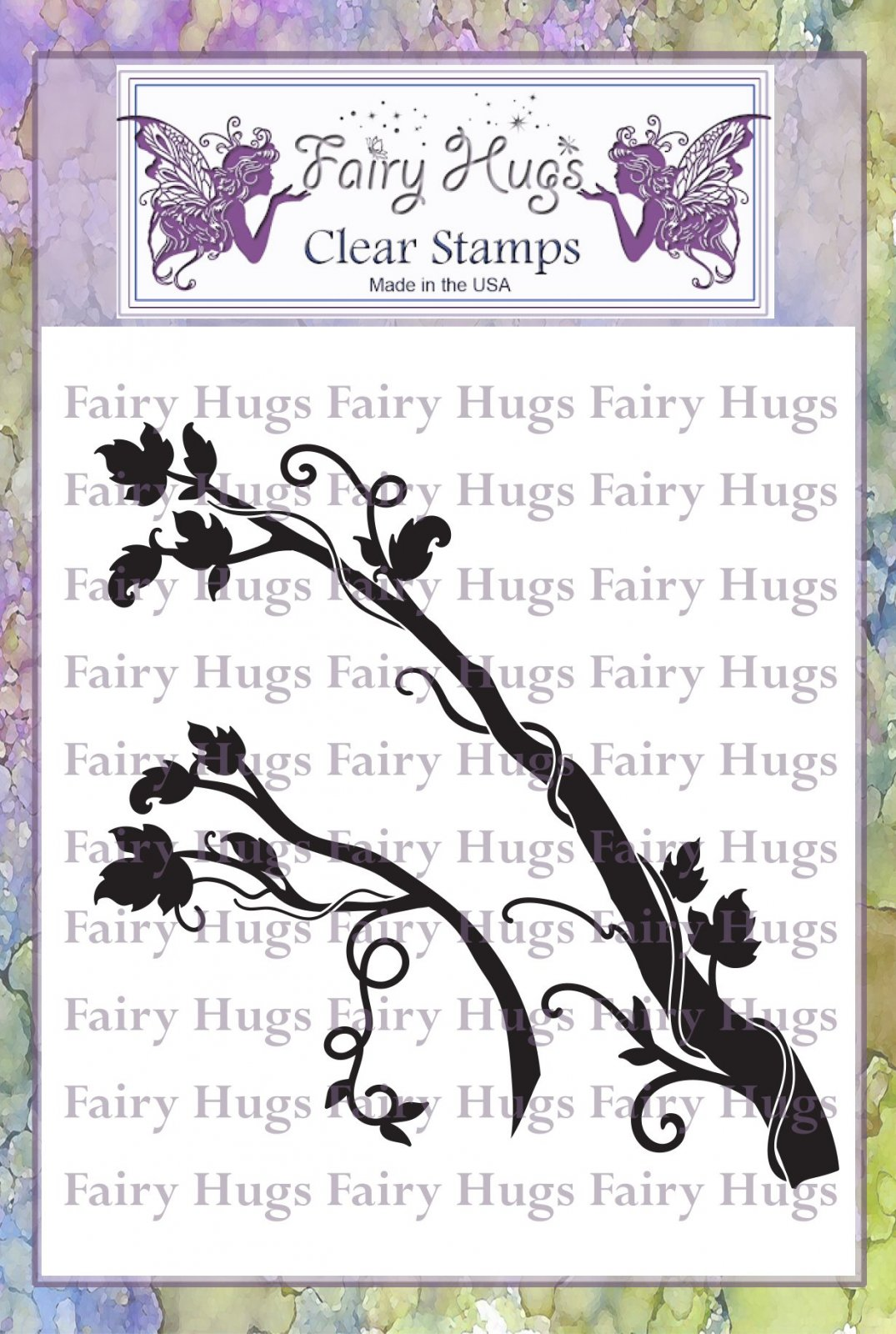 PRE ORDER Fairy Hugs Stamps - Fairy Branches