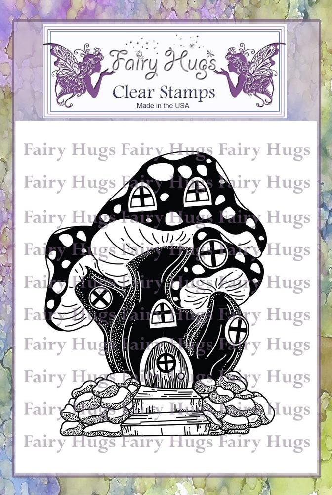 PRE ORDER Fairy Hugs Stamps - Toadstool House