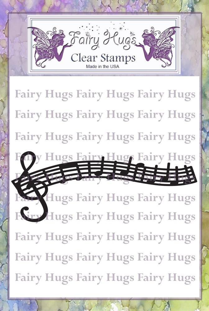 PRE ORDER Fairy Hugs Stamps - Musical Walkway
