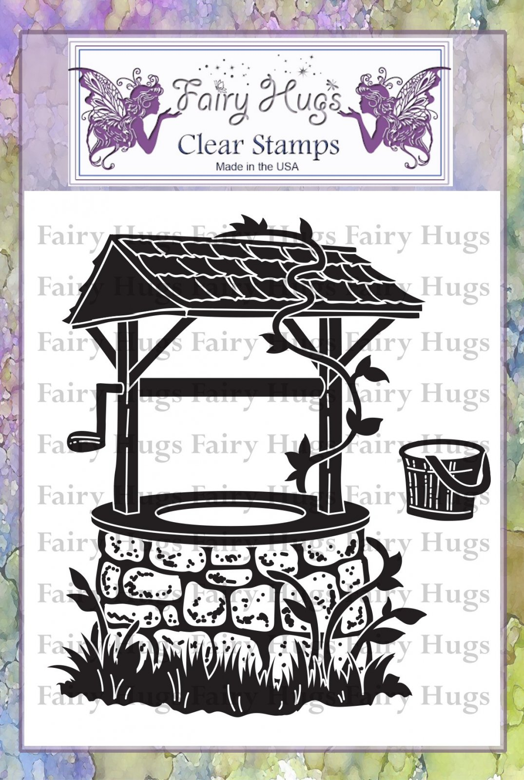 PRE ORDER Fairy Hugs Stamps - Wishing Well