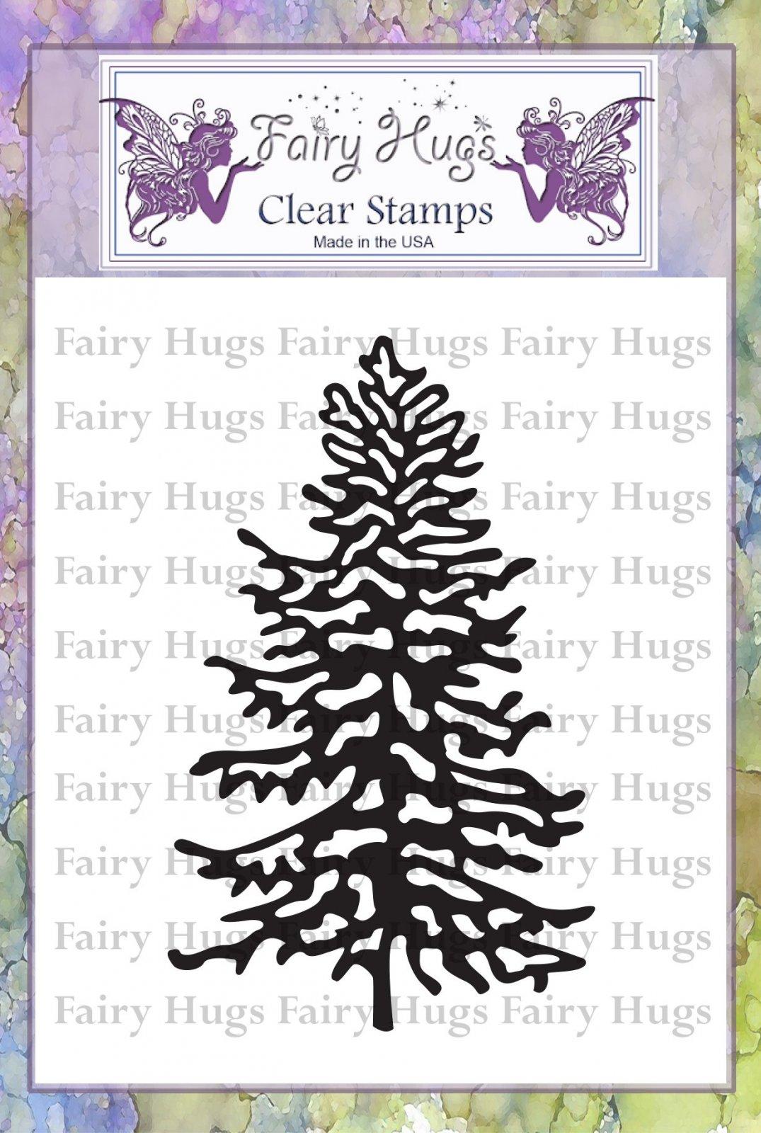 PRE ORDER Fairy Hugs Stamps - Snowy Fir