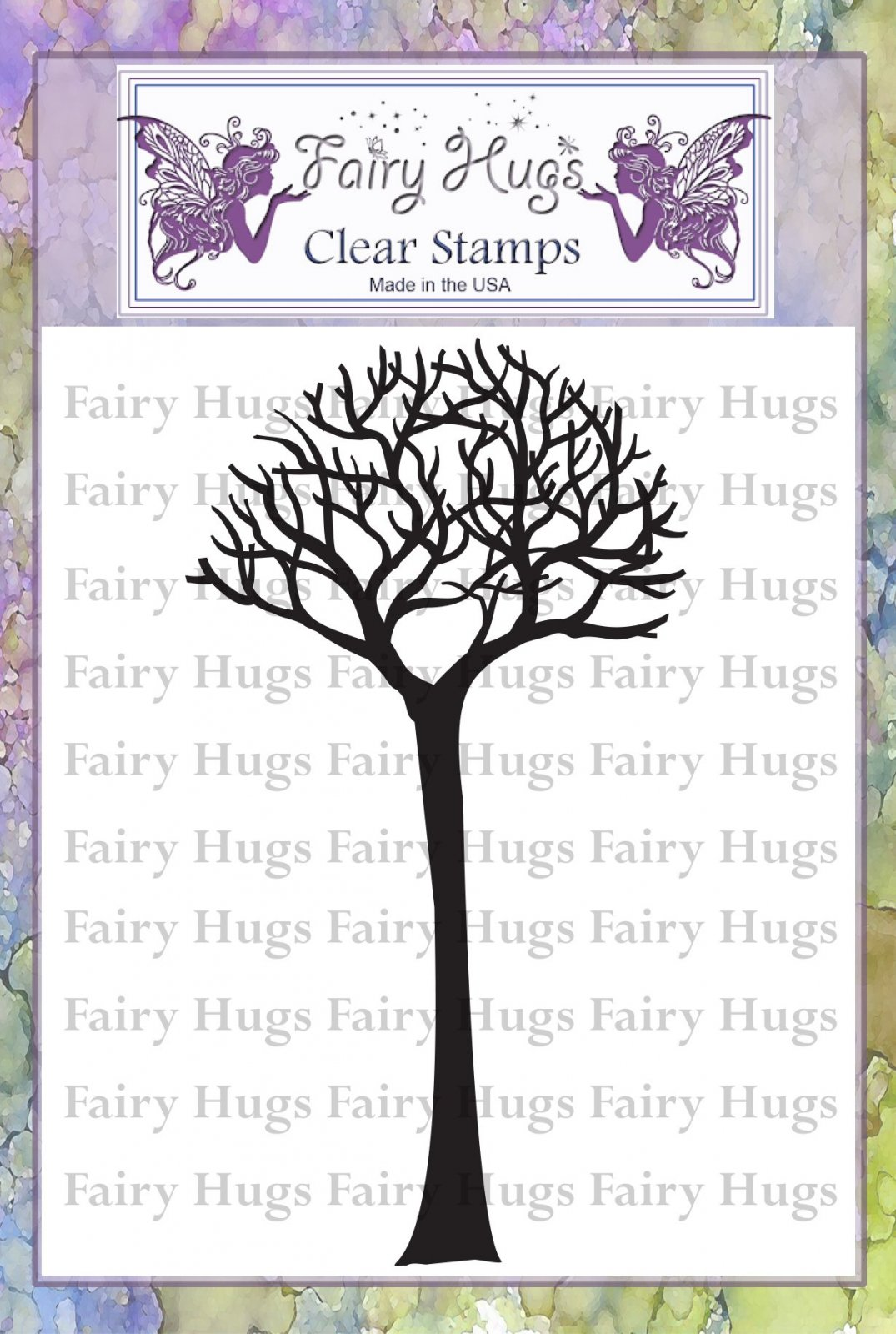 PRE ORDER Fairy Hugs Stamps - Skinny Bare Tree (Tall)
