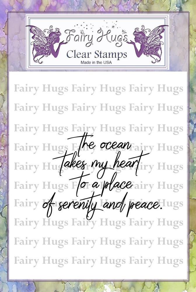 PRE ORDER Fairy Hugs Stamps - Serenity