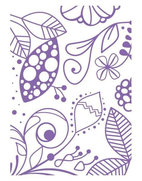 Couture Creations Emboss Folder 5x7 - Great Fubu