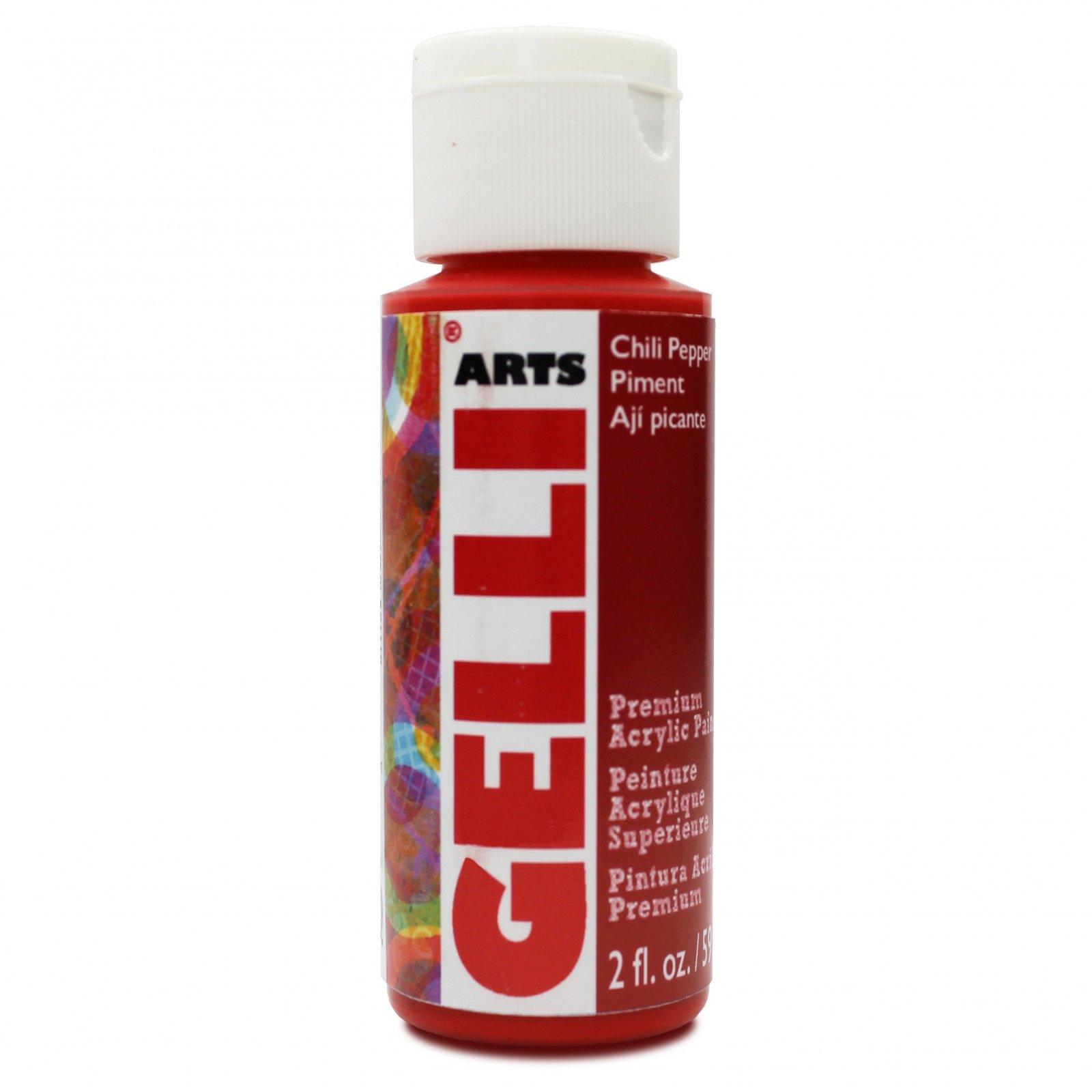 Chilli Pepper - Gelli Arts Acrylic Paint