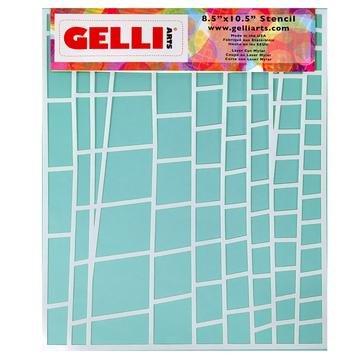 Gelli Arts 8.5 x 10.5 Stencil Ladder