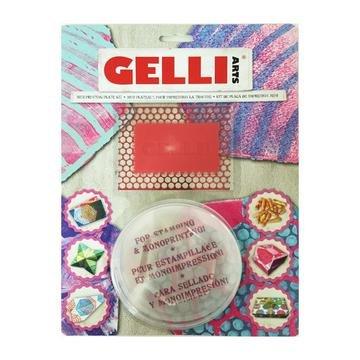 Gelli Mini Plate Kit - Hexagonal