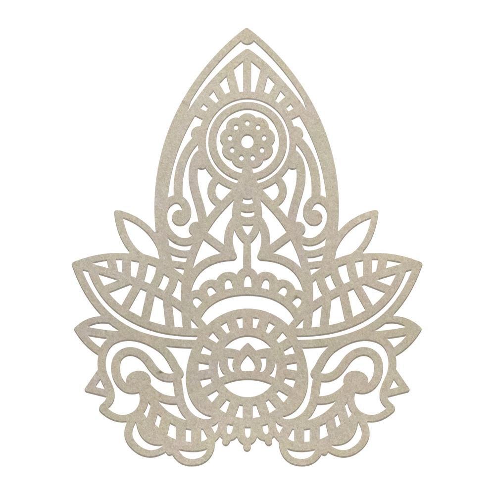 Chipboard - BB - Henna Motif (1pc)