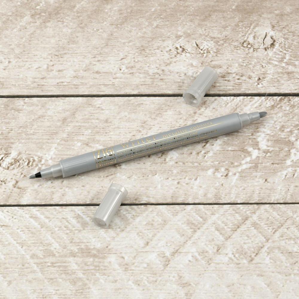 Writer Pen - Metallic Silver (1mm/1.2mm)