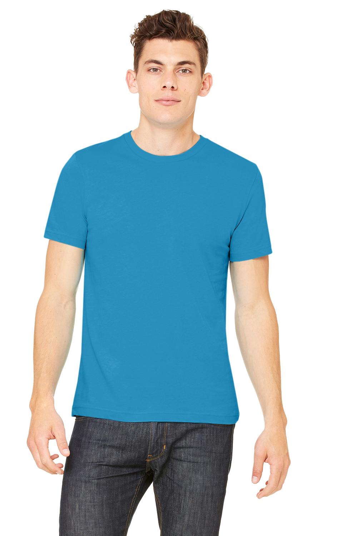 Bella Canvas AQUA Soft Style Unisex Jersey T-Shirt