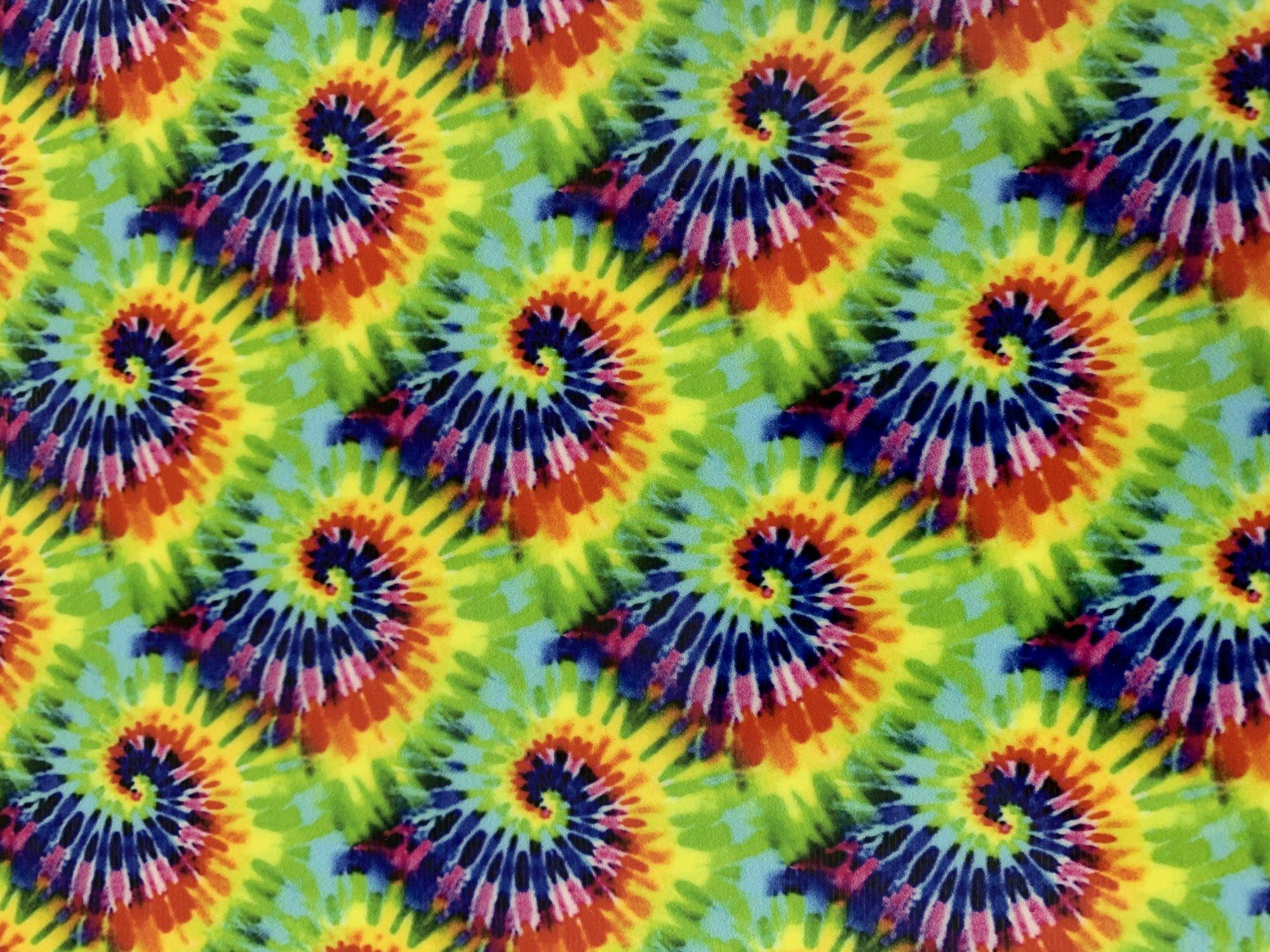 HTV Small Tye Dye Vinyl 1 yd