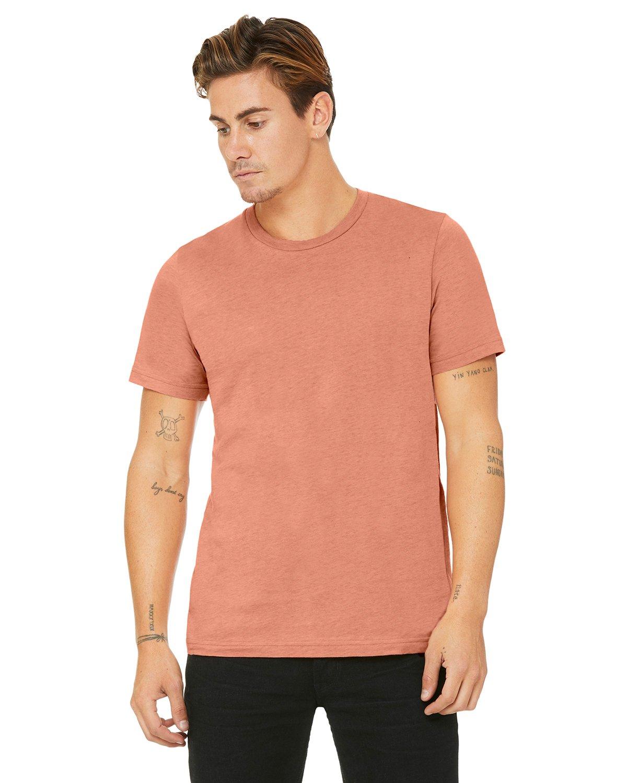 Bella Canvas Heather PRISM SUNSET Soft Style Unisex T-Shirt