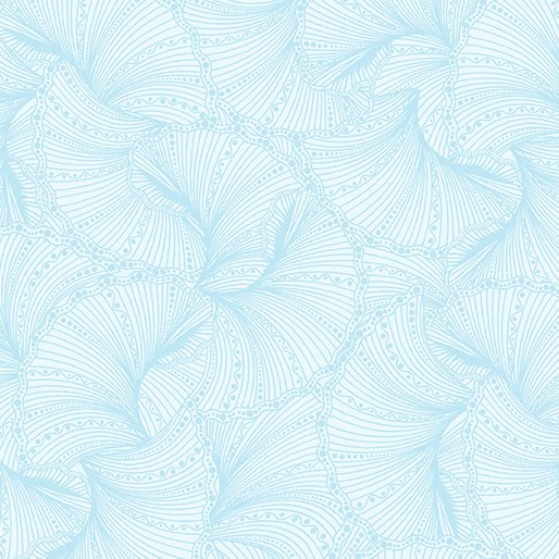 Fat Quarter FANFARE LIGHT BLUE Horsen Around 18 x 22 fabric