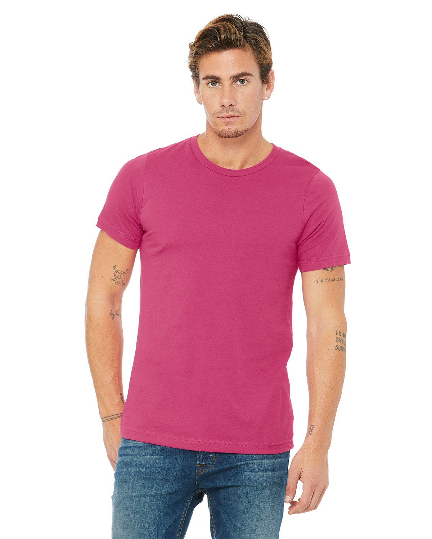 Bella Canvas BERRY Soft Style Unisex Jersey T-Shirt