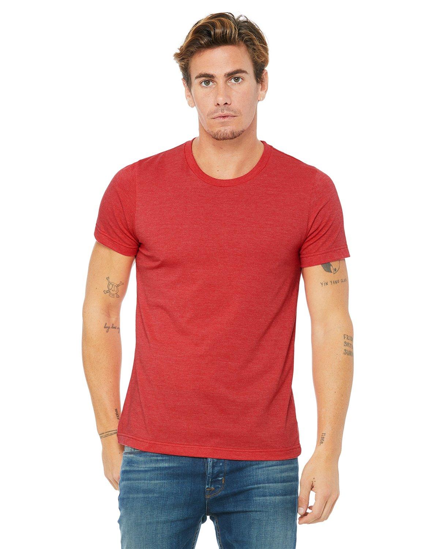 Bella Canvas Heather RED Soft Style Unisex T-Shirt