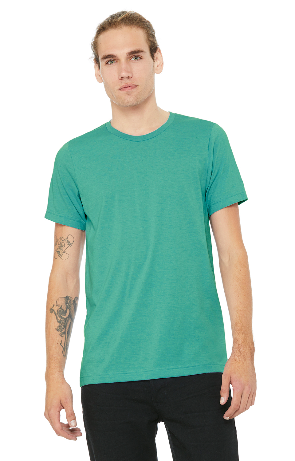 Bella Canvas TEAL Soft Style Unisex Jersey T-Shirt