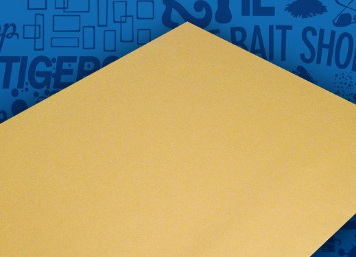 Stahls Kraft Paper Cover Sheet 15x19 inches