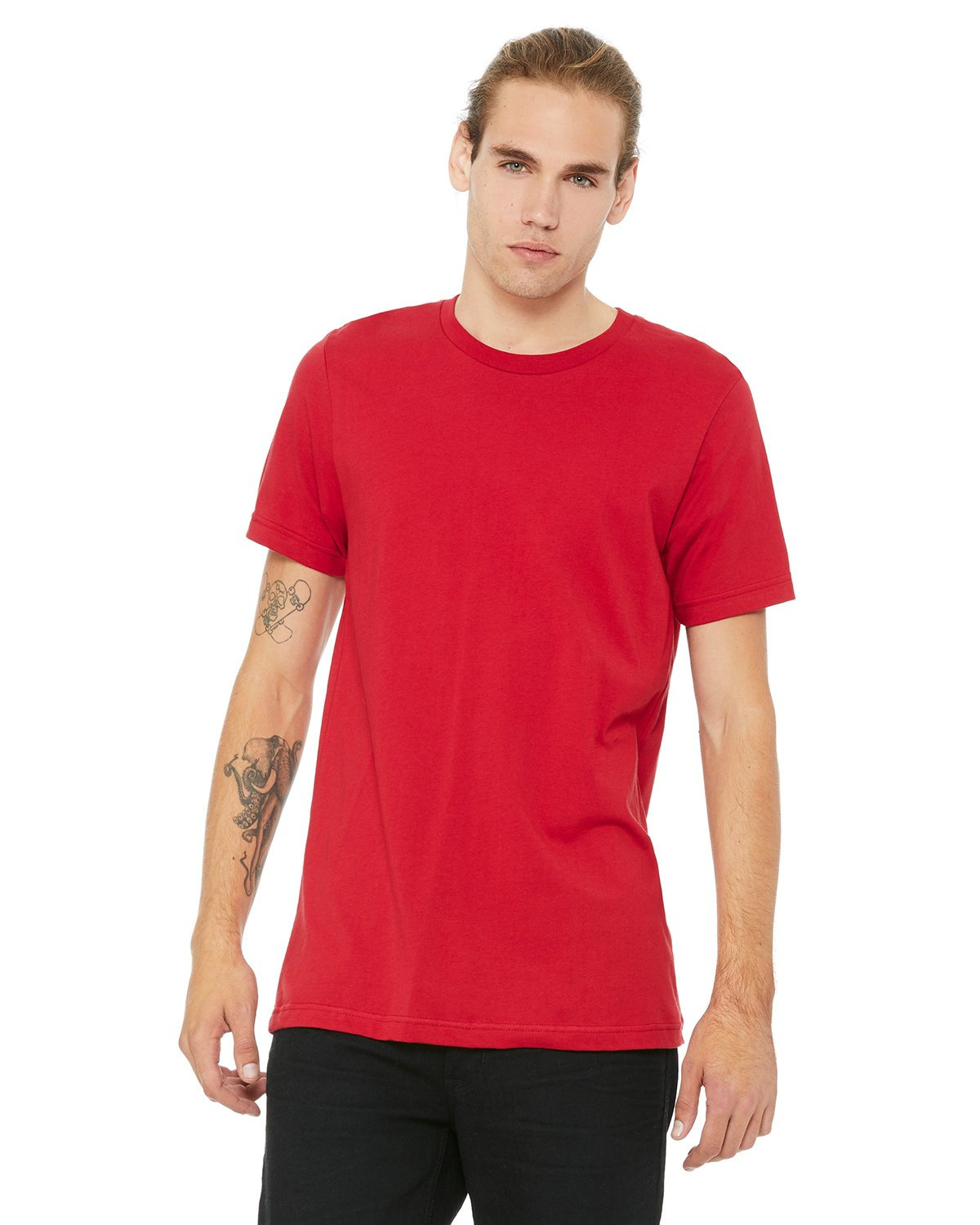 Bella Canvas RED Soft Style Unisex Jersey T-Shirt