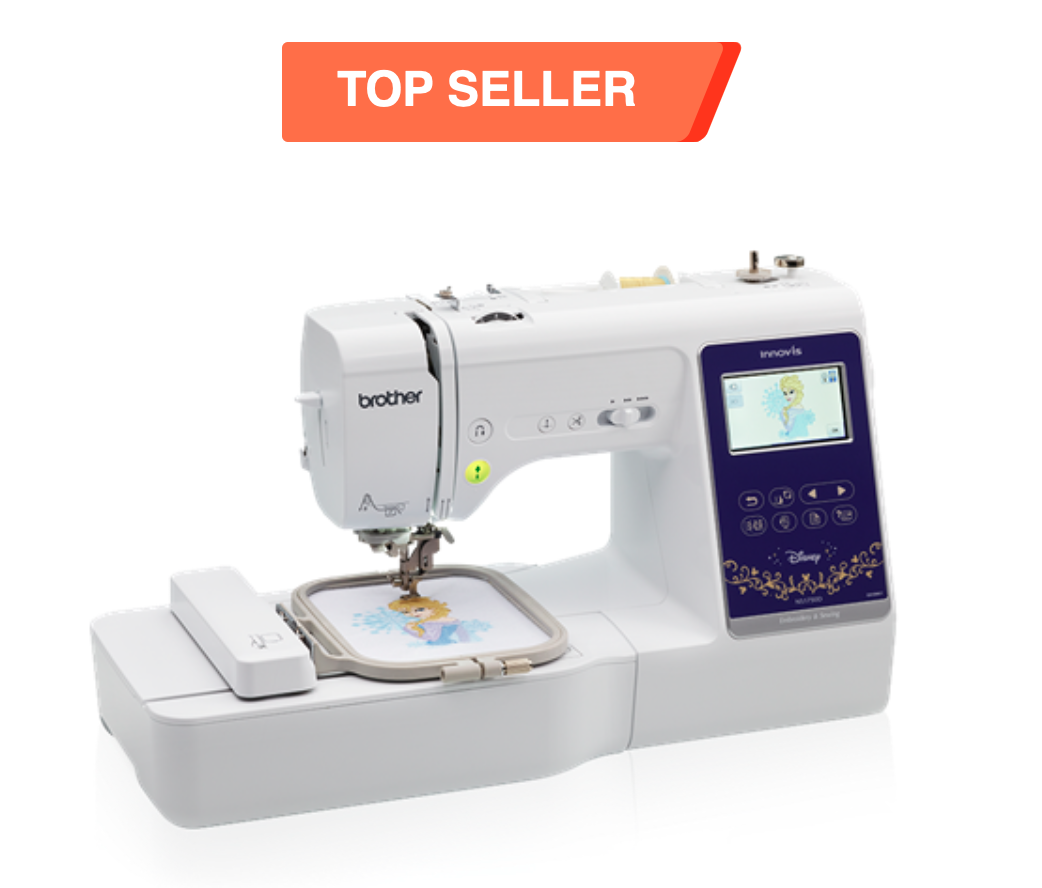 Brother NS1750D Combination Sewing & Embroidery with Disney